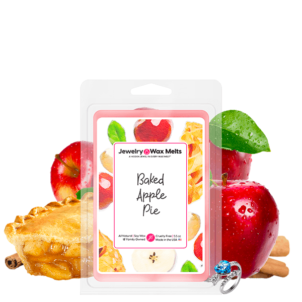 Baked Apple Pie Jewelry Wax Melt - BathBombs.Com