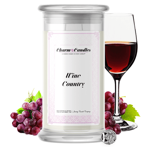 Wine Country | Charm Candle®-Charm Candles®-The Official Website of Jewelry Candles - Find Jewelry In Candles!