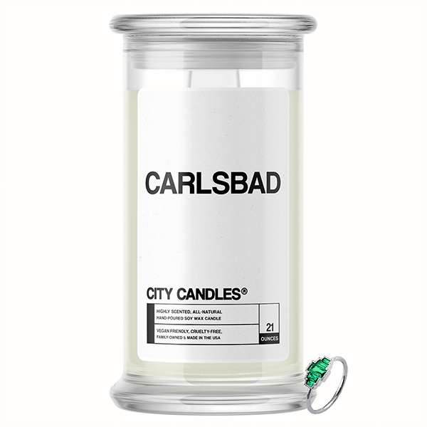 Carlsbad City Jewelry Candle - BathBombs.Com