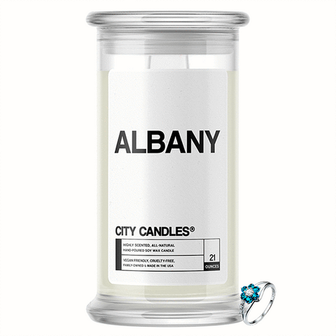 Albany City Jewelry Candle - BathBombs.Com