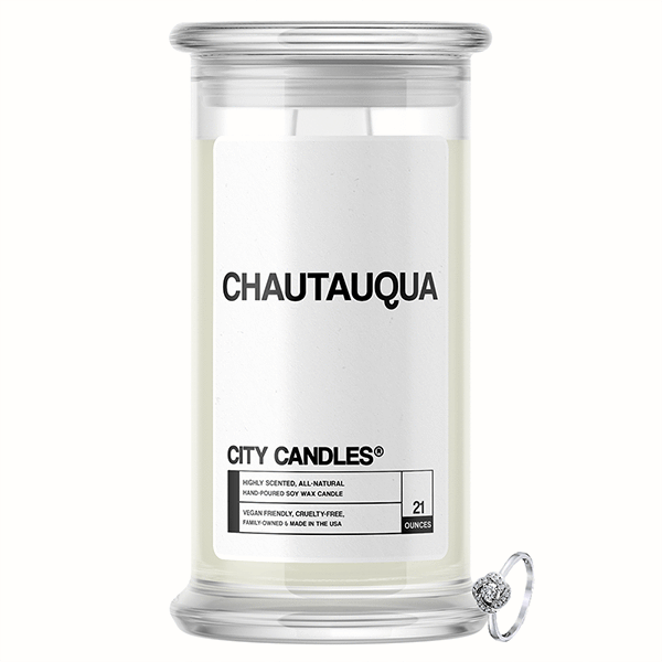 Chautauqua City Jewelry Candle - BathBombs.Com