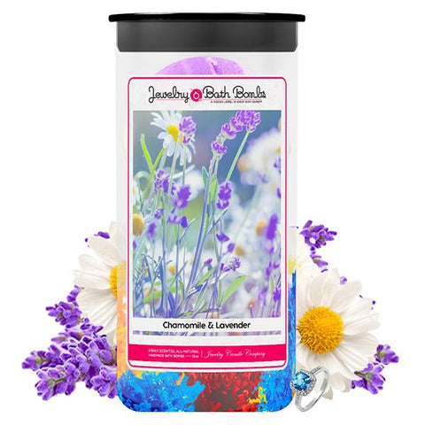 Lavender & Chamomile Jewelry Bath Bombs Twin Pack - BathBombs.Com