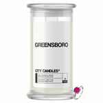 Greensboro City Jewelry Candle