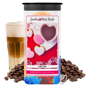 Café Latte Jewelry Bath Bombs Twin Pack - BathBombs.Com