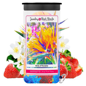 Birds of Paradise Jewelry Bath Bombs Twin Pack - BathBombs.Com