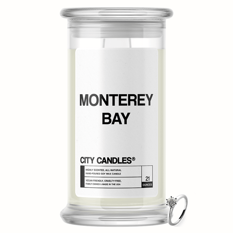 Monterey Bay City Jewelry Candle - BathBombs.Com