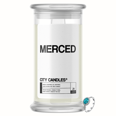 Merced City Jewelry Candle - BathBombs.Com