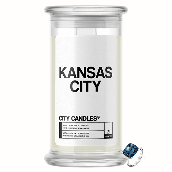 Kansas City City Jewelry Candle - BathBombs.Com