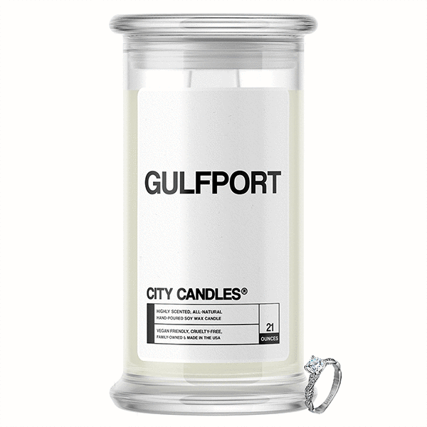 Gulfport City Jewelry Candle - BathBombs.Com