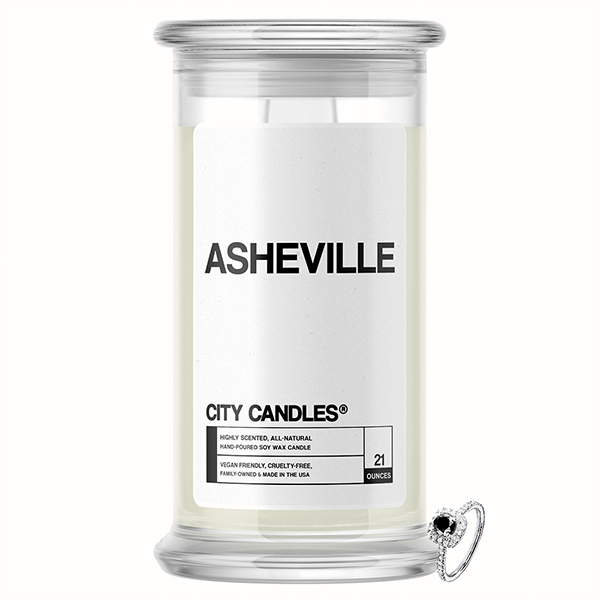 Asheville City Jewelry Candle - BathBombs.Com