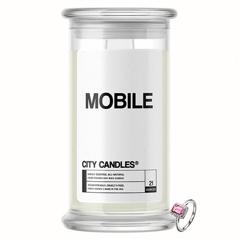 Mobile City Jewelry Candle - BathBombs.Com