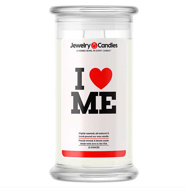 I Love Me Love Candle - BathBombs.Com