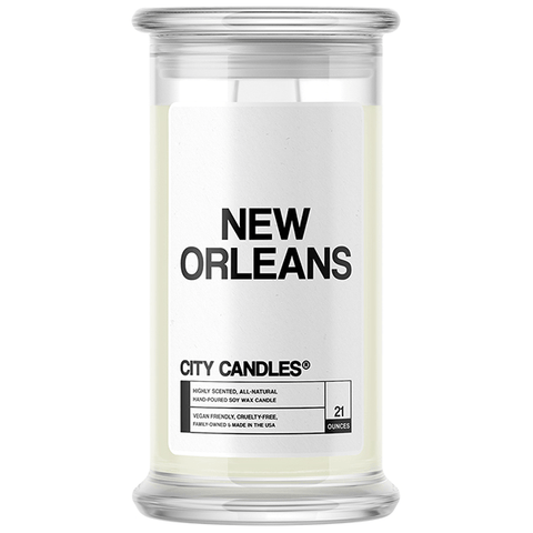 New Orleans City Candle