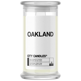 Oakland City Candle - BathBombs.Com