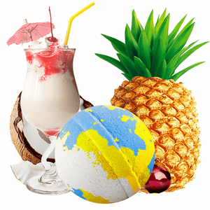 If You Like Piña Coladas! Jumbo Bath Bomb - BathBombs.Com