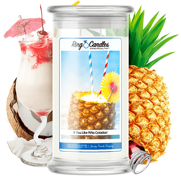 If You Like Piña Coladas! Ring Candle - BathBombs.Com