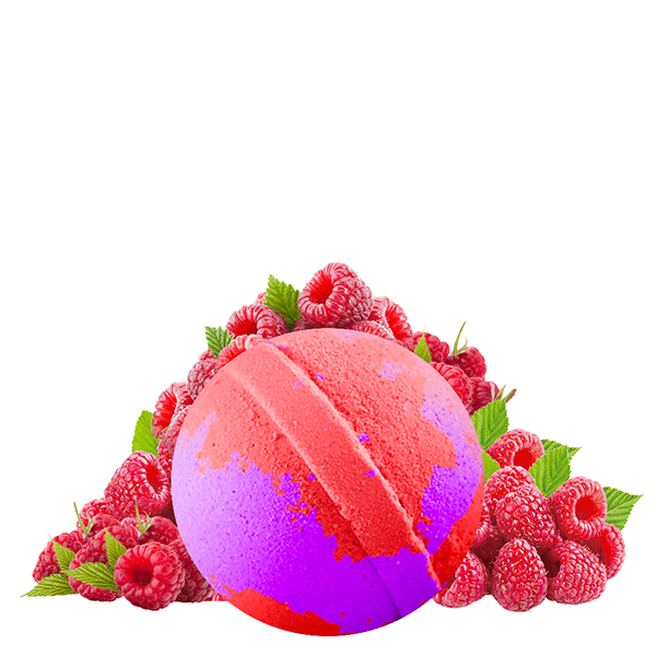 Rockin' Raspberry Jumbo Bath Bomb - BathBombs.Com