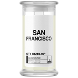 San Francisco City Candle - BathBombs.Com