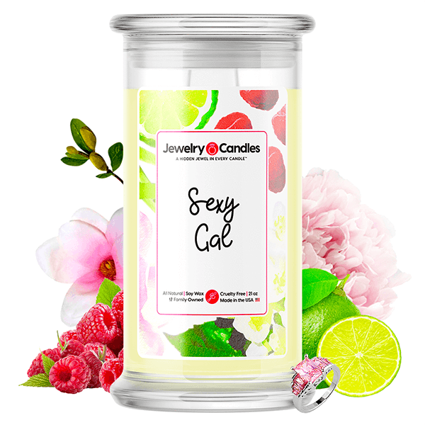Sexy Gal Jewelry Candle - BathBombs.Com