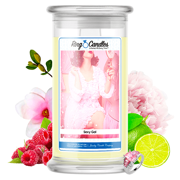 Sexy Gal Ring Candle - BathBombs.Com