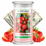Strawberry Fields Cash Money Candle - BathBombs.Com