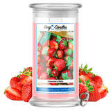 Strawberry Fields Ring Candle - BathBombs.Com