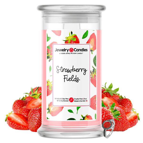 Strawberry Fields Jewelry Candle - BathBombs.Com
