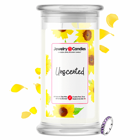 Unscented Jewelry Candle