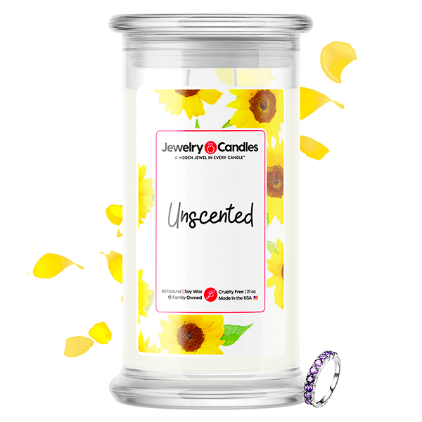 Unscented | Jewelry Surprise Candle® - BathBombs.Com