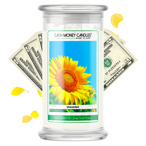 Unscented Cash Money Candle - BathBombs.Com