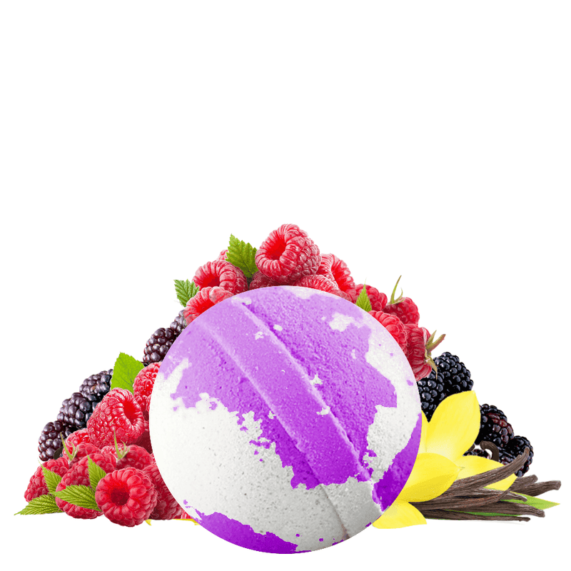 Very Berry Vanilla Jumbo Bath Bomb - BathBombs.Com