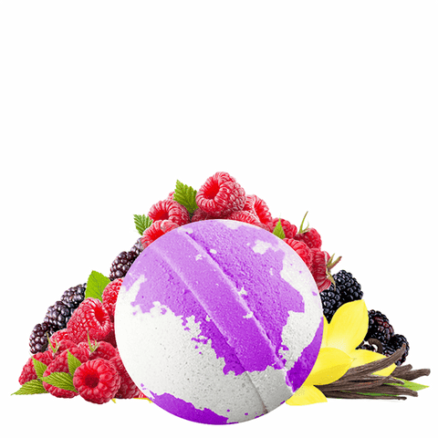 Very Berry Vanilla Dollar Bath Bomb