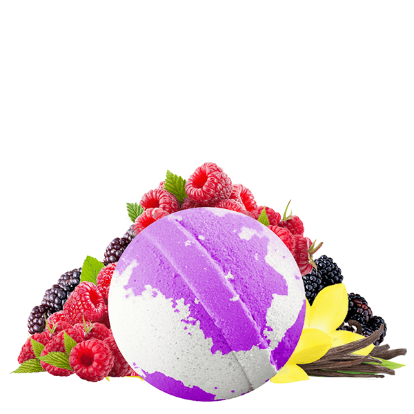 Very Berry Vanilla Dollar Bath Bomb - BathBombs.Com