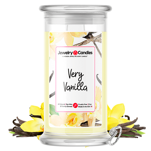 Very Vanilla Jewelry Candle - BathBombs.Com