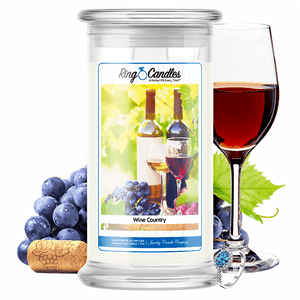 Wine Country Ring Candle - BathBombs.Com
