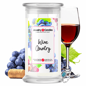 Wine Country Jewelry Candle - BathBombs.Com