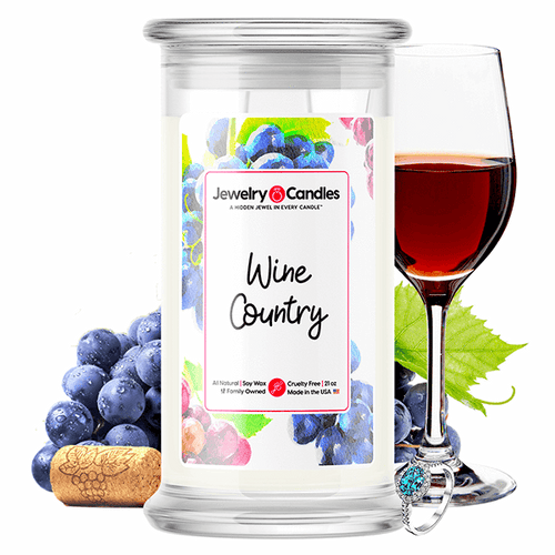 Wine Country | Jewelry Surprise Candle® - BathBombs.Com