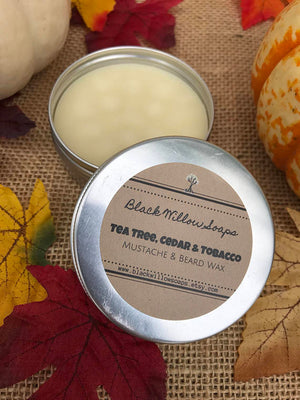 Tea Tree, Tobacco & Cedar Beard Wax