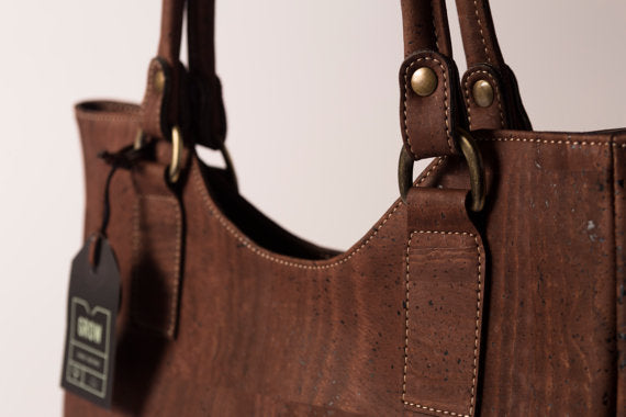 Women Handbag from Natural Cork