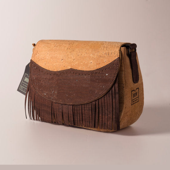Cute Saddle cork bag
