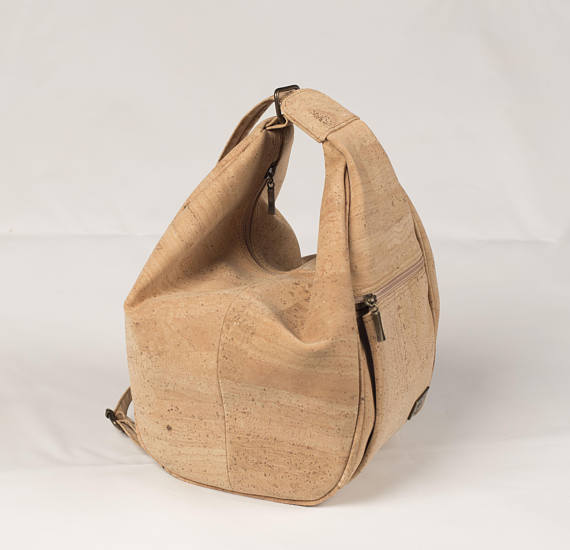 Cork Crossbody Handbag plus Backpack