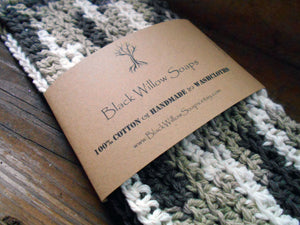 Chocolate Milk Cotton Washcloths