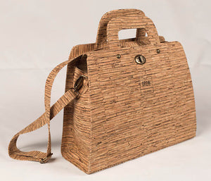 Women Cork Leather Handbag