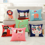 Cute Cartoon Animal Pillowcase