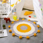 Round Crochet Children's Carpet