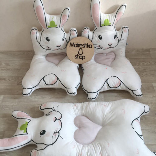 2018 New Style Soft Cotton Baby Play Crawl Floor Rug Cute Rabbit Bear Carpet Game Mat Kids Crawling Blanket Children Play Mats