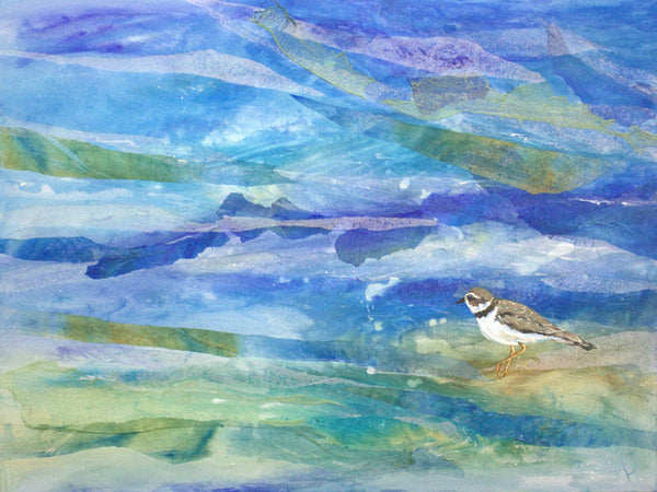 Shore Bird Blues #3 (Plover)