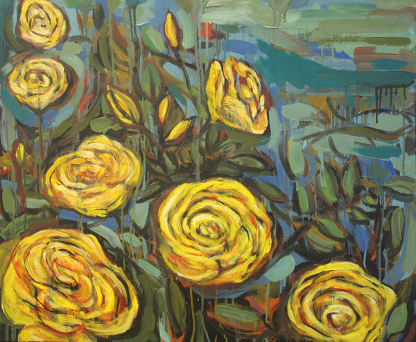 Harrison's Yellow Roses
