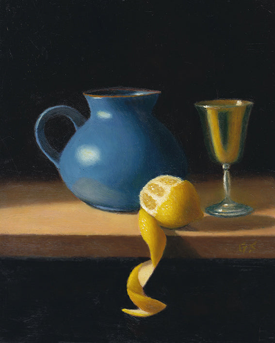Pitcher - Lemon - Goblet