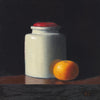 Jar and Orange